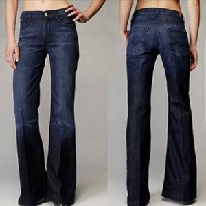 7 For All Mankind Ginger Flare Jeans - 0450